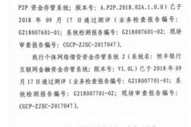冠群驰骋坚守合规 成北京地区率先达标平台之一
